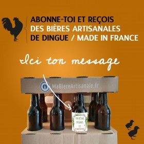 abonnement box biere mabiereartisanale.fr biere artisanale