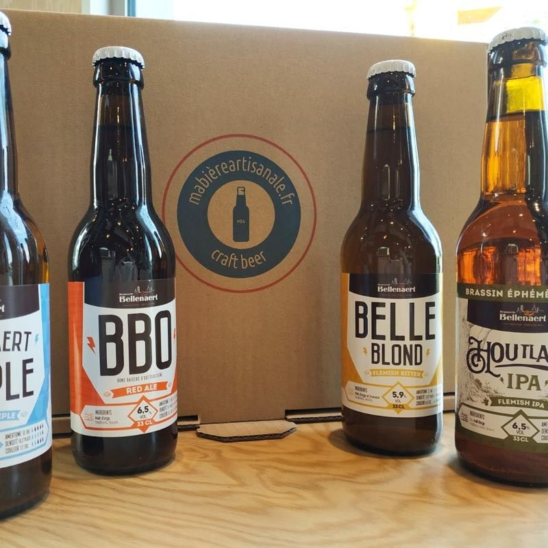 box biere microbrasserie Bellenaert 59, Nord, made in france