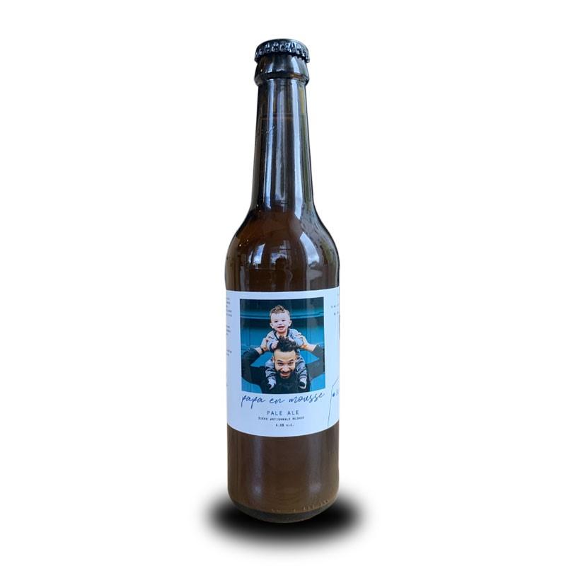 etiquette personnalisee papa cadeau original papa idee cadeau homme biere artisanale