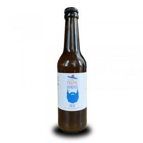 Etiquette personnalisée - Papa En Mousse Bière artisanale française