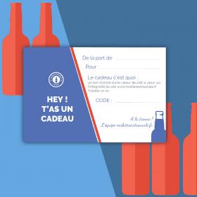 Carte Cadeau 20€ biere box biere microbrasseries biere artisanale française coffret biere