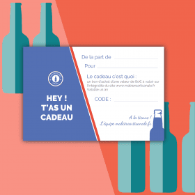 Carte Cadeau 80€ biere box biere microbrasseries biere artisanale française coffret biere