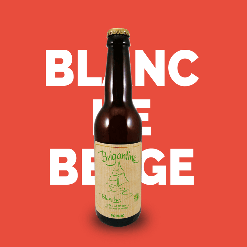 Bière artisanale Blanche microbrasserie La Brigantine coffret biere box biere