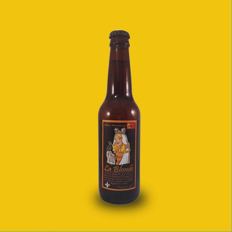 Bière artisanale blonde microbrasserie Brasserie du Hommey box bière