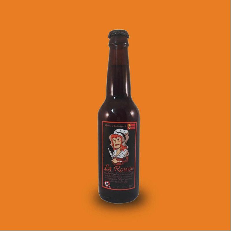 Bière artisanale rousse microbrasserie Brasserie du Hommey box bière