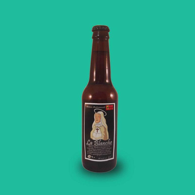 Bière artisanale blanche microbrasserie Brasserie du Hommey box bière