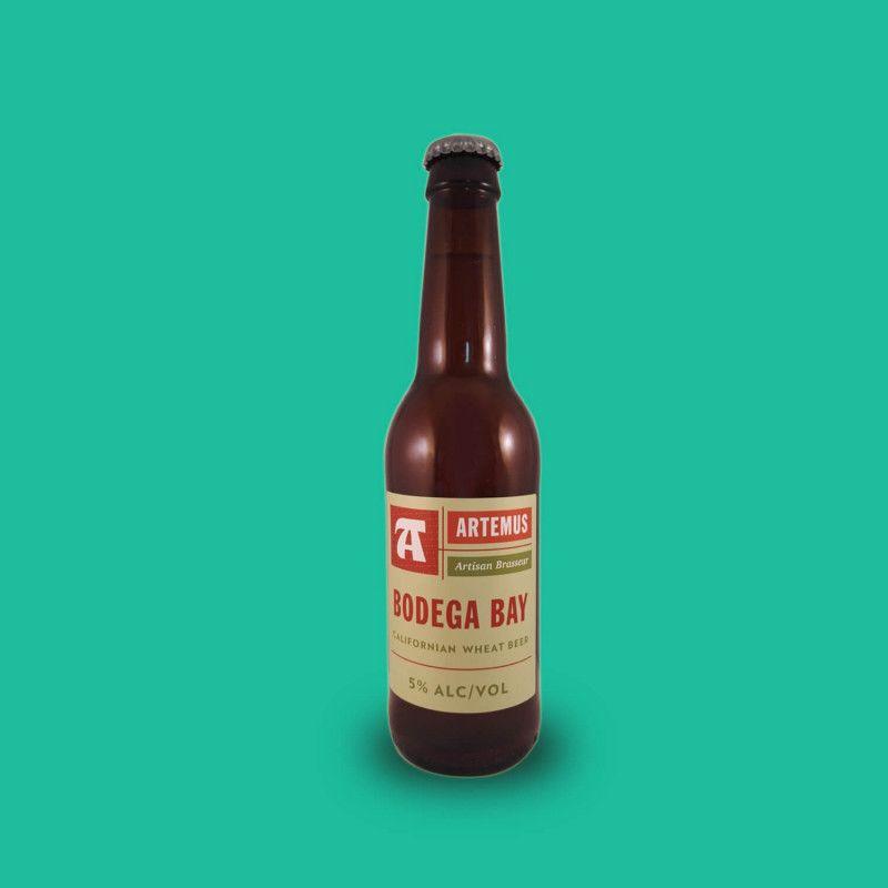 Bière artisanale microbrasserie Artemus Bodega Bay  Blanche box bière