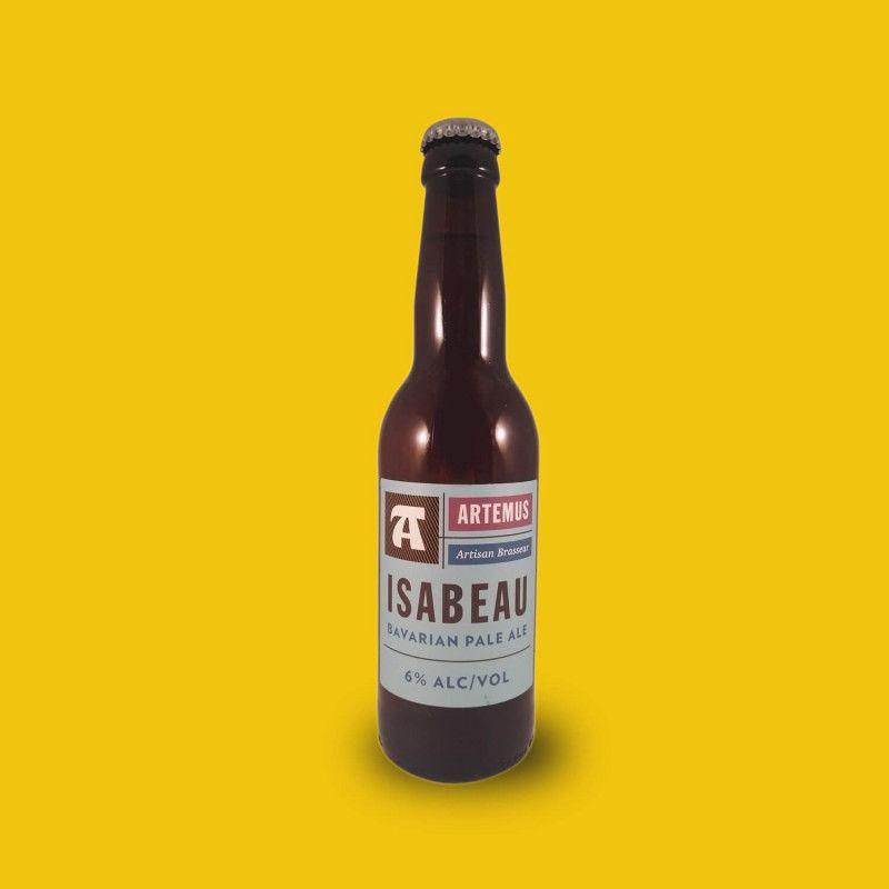 Bière artisanale microbrasserie Artemus Isabeau Pale Ale box bière