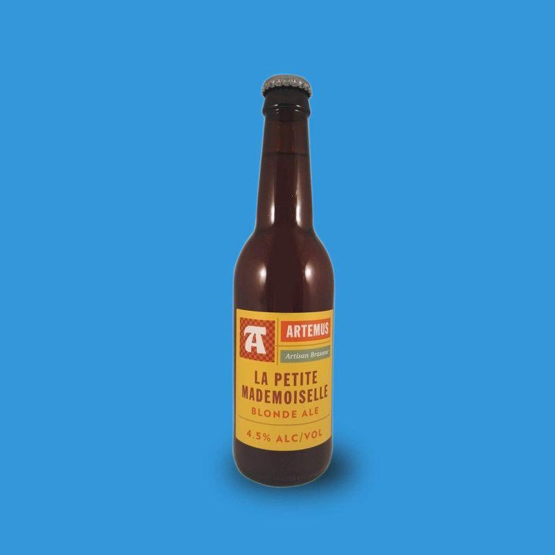 Bière artisanale microbrasserie Artemus La Petite Mademoiselle Blonde Ale box bière