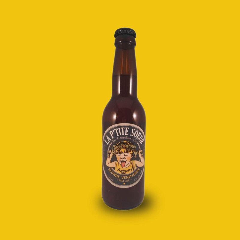 Bière artisanale microbrasserie La Ptite Sœur Blonde Vénitienne American IPA