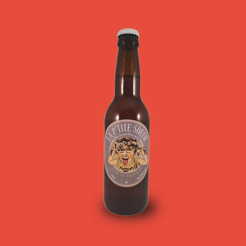 Bière artisanale microbrasserie La Ptite Sœur Blanche Bière de Froment