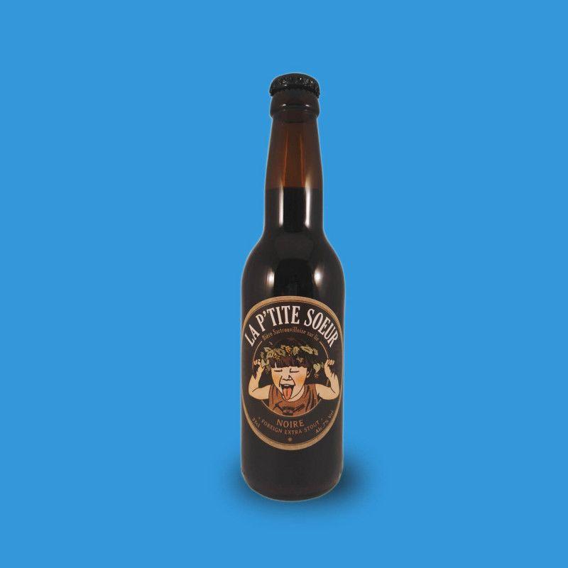 Bière artisanale microbrasserie La Ptite Sœur Bière Noire