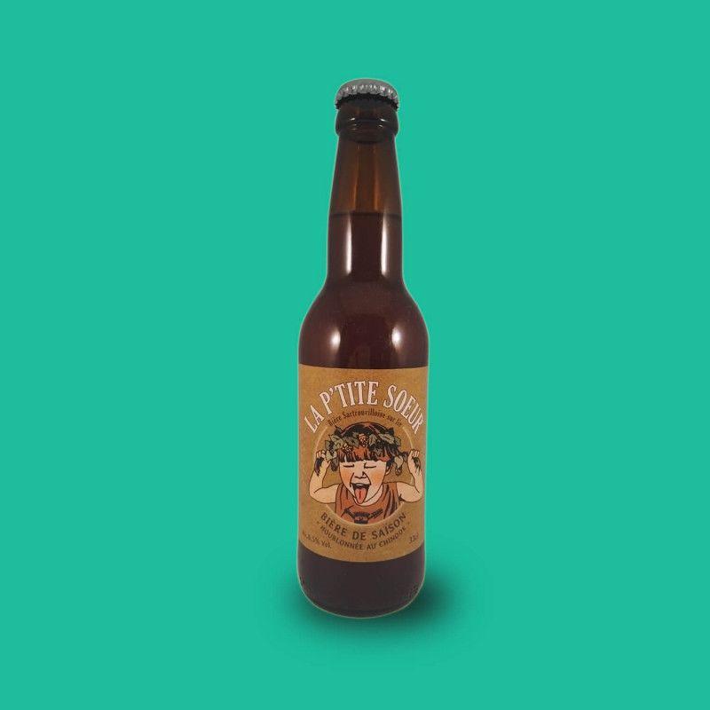 Bière artisanale microbrasserie La Ptite Sœur Saison Farmhouse Ale