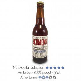 Bière artisanale Bio Amber Ale Skumenn box biere
