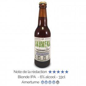 Bière artisanale Bio Rye India Pale Ale Skumenn box biere