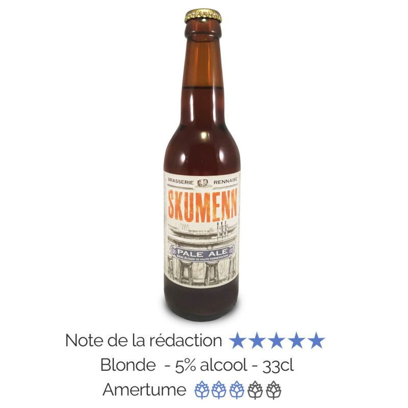 Bière artisanale Bio Pale Ale Skumenn box biere