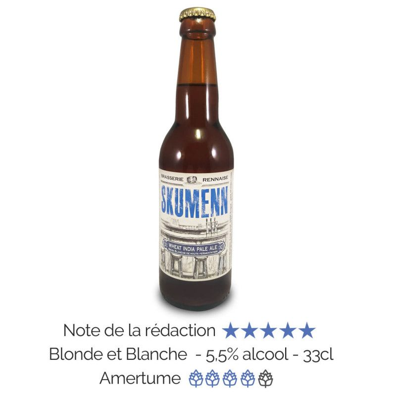 Bière artisanale Bio Wheat India Pale Ale Skumenn box biere
