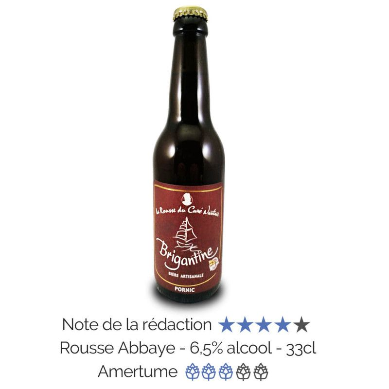 Bière artisanale Rousse microbrasserie La Brigantine coffret biere box biere