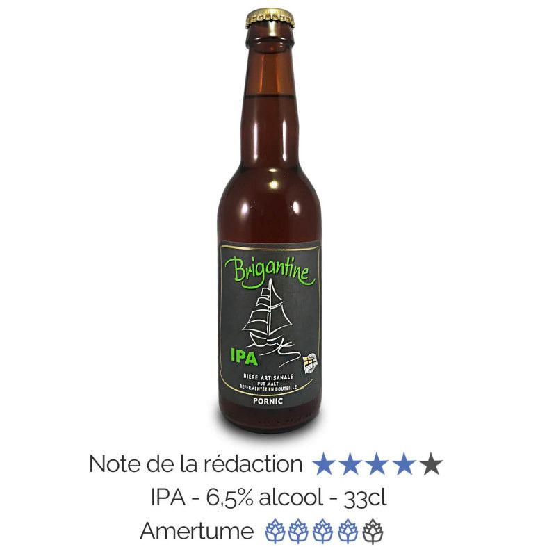 Bière artisanale IPA India Pale Ale microbrasserie La Brigantine coffret biere box biere