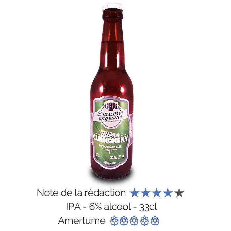 Bière artisanale microbrasserie Brasserie Angevine India Pale Ale Curnonsky box bière