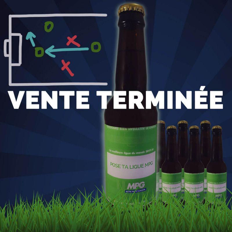 Box biere artisanale football partenariat Mon Petit Gazon coffret biere cadeau biere original