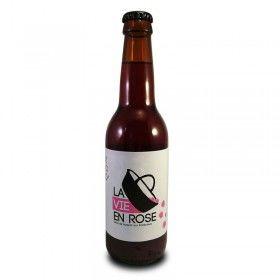 BeMaAd- La Vie En Rose - bière artisanale aux framboises fraîches