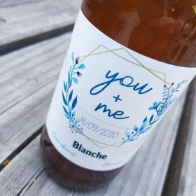 mariage biere personnalisee etiquette personnalisee biere artisanale