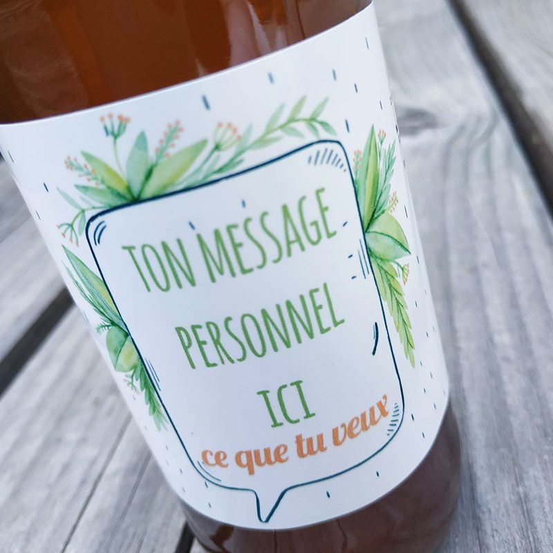 biere personnalisee evenement anniversaire etiquette personnalisee anniversaire bouteille biere artisanale