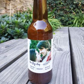 etiquette personnalisee biere personnalisee mariage anniversaire biere artisanale