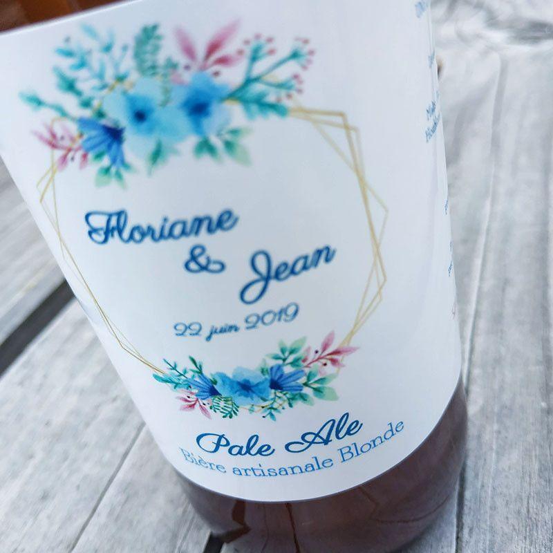 etiquette mariage etiquette personnalisée etiquette bouteille biere biere artisanale