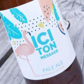 etiquette personnalisee anniversaire biere personnalisee biere artisanale