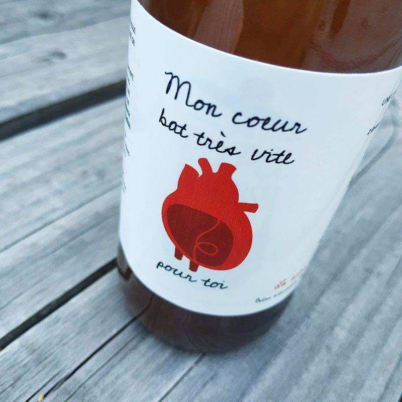 etiquette personnalisee saint valentin idee cadeau biere artisanale