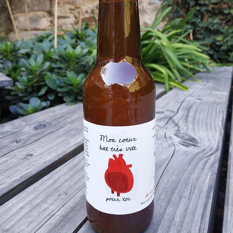 Cœur battant - Bières personnalisées