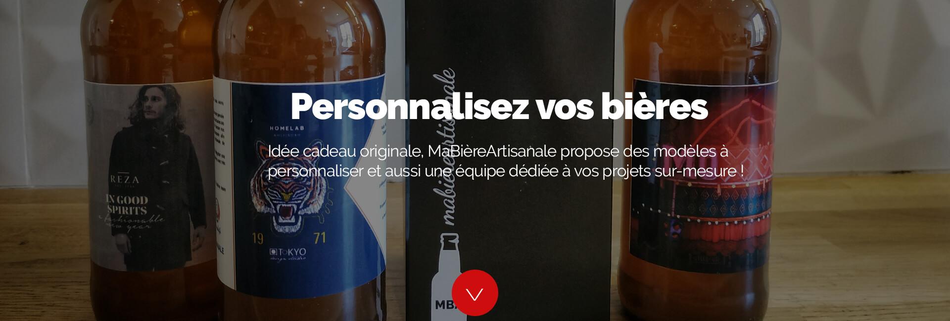 bière personnalisée pour vos événements