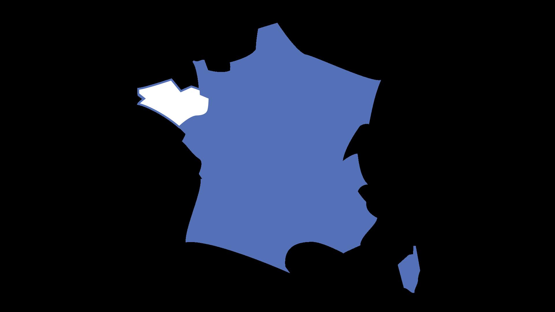 focus Bretagne Carte de France
