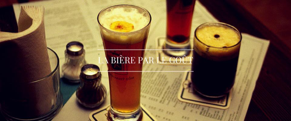 bière goût