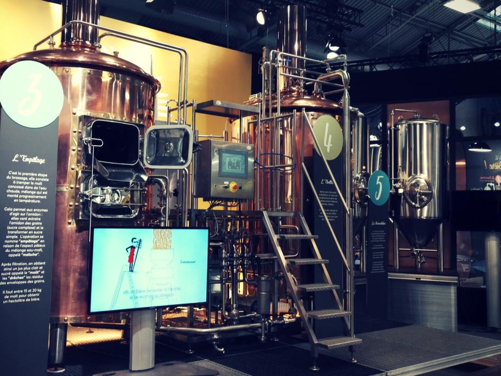 phase empatage fabrication de la bière